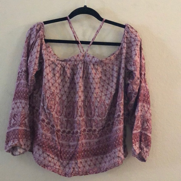 Aeropostale Tops - Bundle 2/$12 Paisley and floral pattern blouse